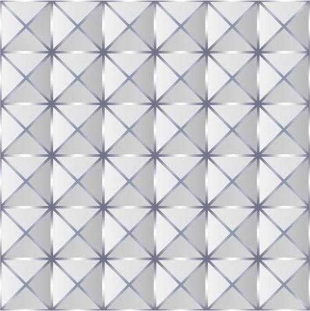 Verfrommeld papier met geometrische naadloos patroon. Vector. maas