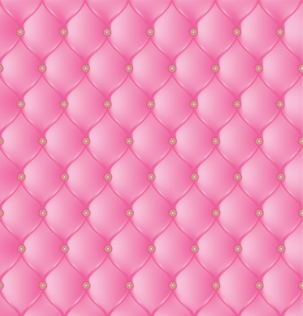 Abstract upholstery on a pink background. Vector Vector Illustration