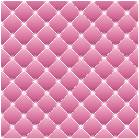 diamond texture: Abstract upholstery on a pink background.