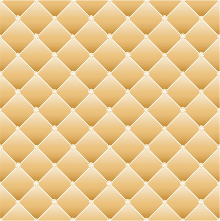 Abstract upholstery on a yellow background. Vector.  Vector