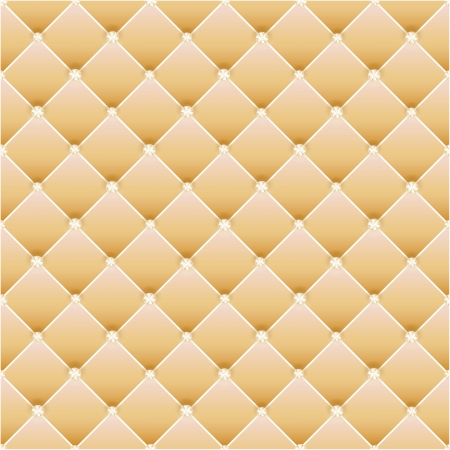 Abstract upholstery on a yellow background.  Vector