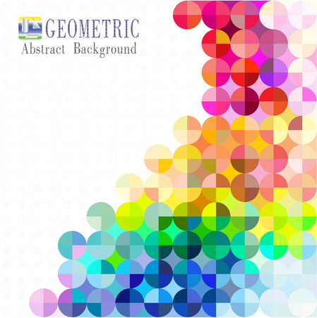 Multicolored mosaic background. vector Illustration