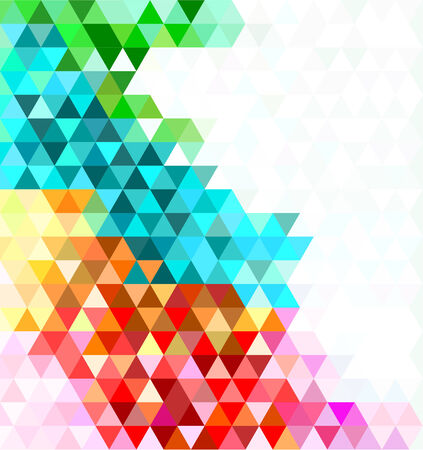 Multicolored mosaic background. Vector illustration Vector