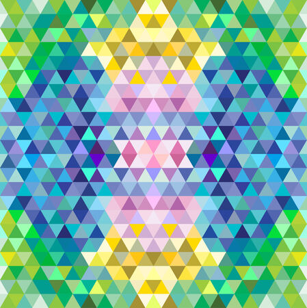Multicolored mosaic background. Vector illustration Illustration