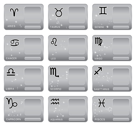 zodiacal sign: Signo del zodiaco. Ilustraci�n vectorial Vectores