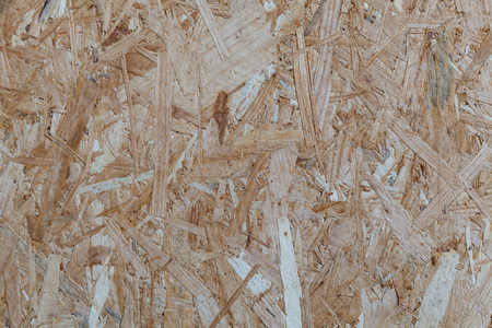 Particle flakeboard with OSB texture