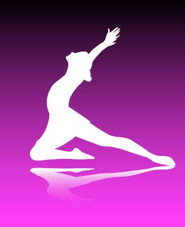 ballet dancer-vector Stock Vector - 5208703