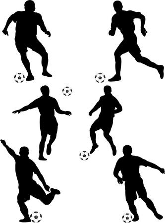 joueurs de foot: collection de joueurs de soccer 10