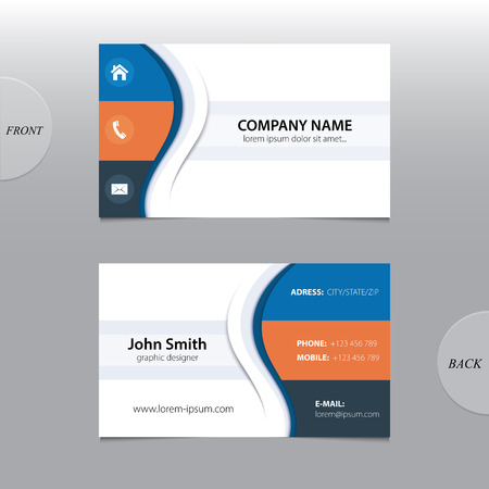 cards: Vector abstract business cards