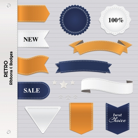 Big set of labels and badges  Vector