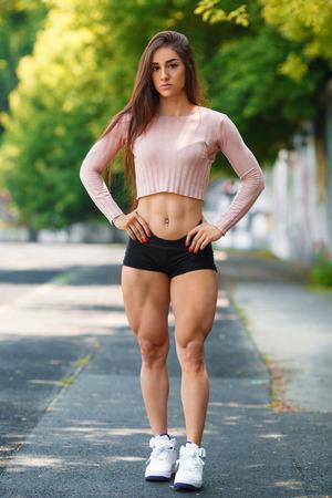 Muscle girls nude photos naked female athletes