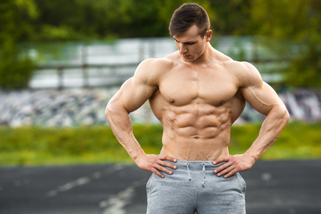 Muscle Males Outdoor