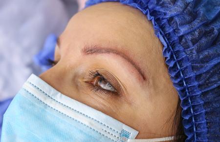 Remove microblasting old makeup. Reklamní fotografie