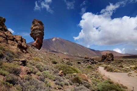 Volcanic Mount Teide in Tenerife 版權商用圖片