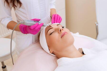 Professional ultrasonic equipment. Skin Care.