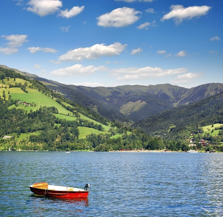 zell am see: Zell am see in Austria