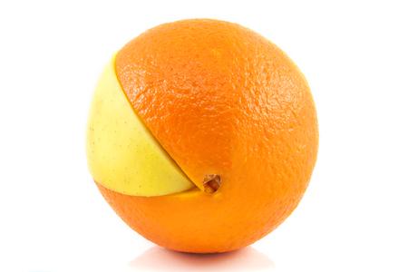 superfruit: Superfruit - apple and orange combination