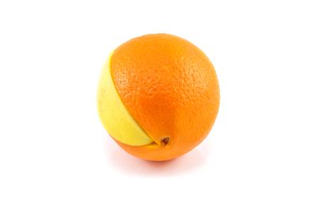 Superfruit - apple and orange combination photo