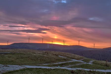 Sunrise from Hadzhi Dimitar peak photo