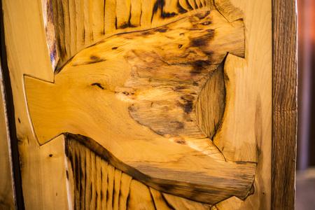 Scorched wood color and texture closeup 版權商用圖片