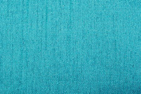 Extreme macro shot of a blue synthetic silk fabric Stock Photo