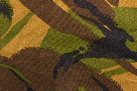 military camouflage pattern and fabric photo