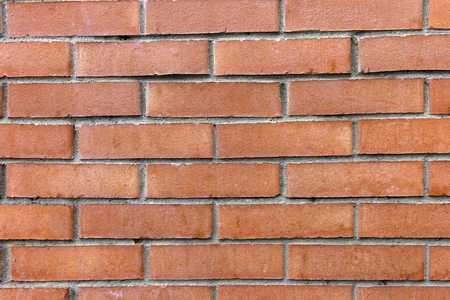 smooth and red brick wall photo
