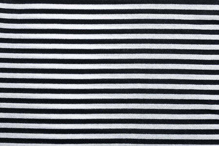 fabric in black and white stripe photo