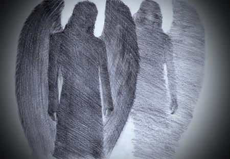 두 천사와 하나님의 빛
