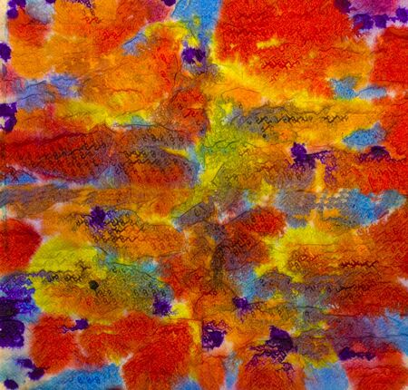chaotic: chaotic movement of bright colors