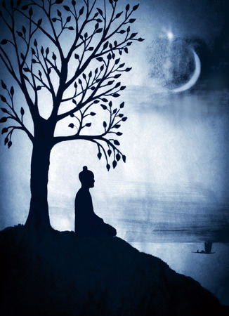 enlightenment: Enlightenment of the Buddha under the Bodhi tree