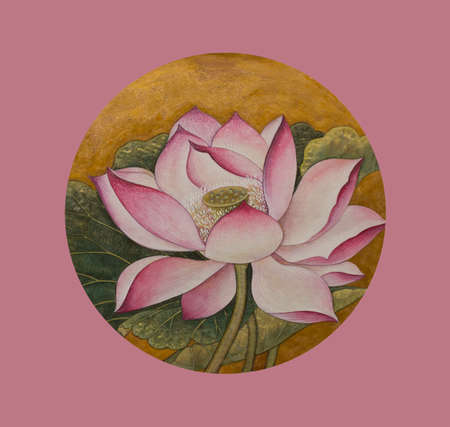 Lotus symbol of purity and enlightenment
