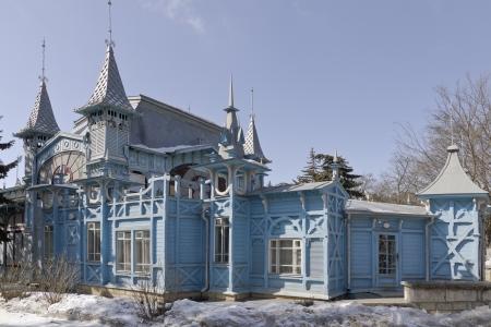 A fragment of Lermontov gallery  Park Flower Garden  Pyatigorsk