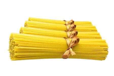 Spaghetti pasta closeup