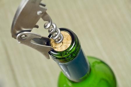sommeliers: Corkscrew wrapped in cork