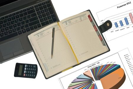 accumulations:   Set of office worker