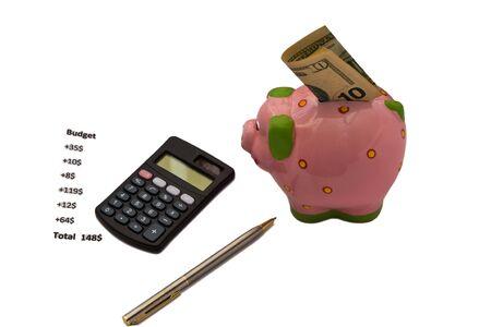 accumulations:  Piglet, money-box for money