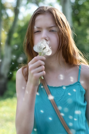 Portrait  girl  teenager          Фото со стока