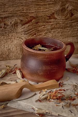 healthful: Refrescante t� de hierbas de herbares saludables