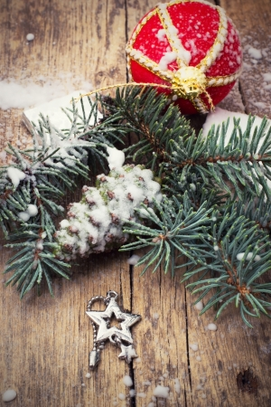 traditional Christmas decorations for new year holidays Stock Photo - 22534706
