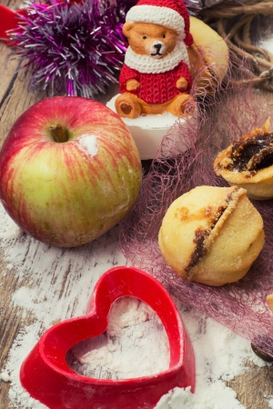 Christmas decoration and toy during winter holidays Stock Photo - 22867701
