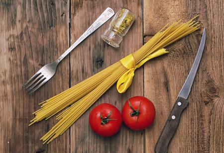 Pasta italiana Banque d'images - 23535646