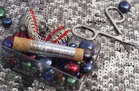 sewing kit photo