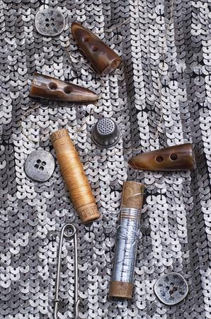 sewing kit Stock Photo - 24402170