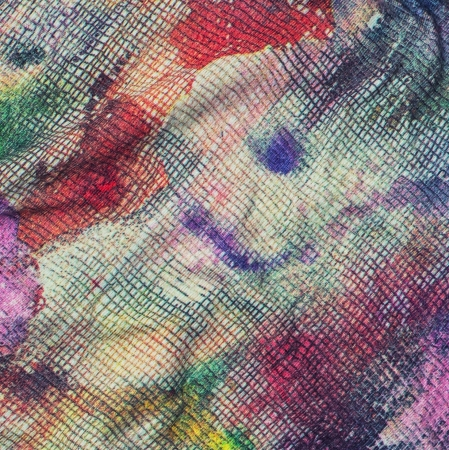 color fabric of textile photo