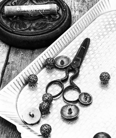 deprecated tools for sewing monochrome style