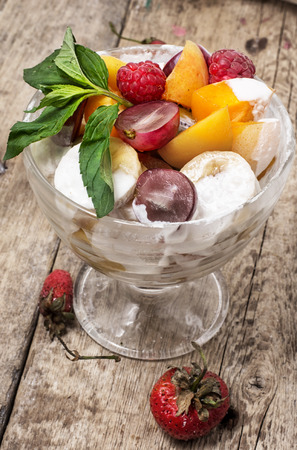 delightfully: salad is taste of fresh fruits and berries