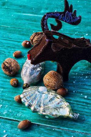 nalatenschap: erfenis glas Kerstmis speelgoed Stockfoto