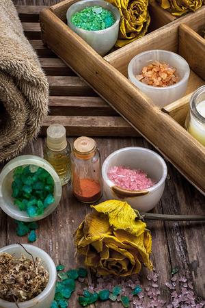 海の塩および付属品