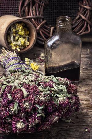 elixir potion of herbs photo